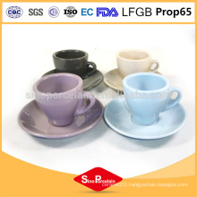 china wholesale 12oz gift ceramic cup and saucer