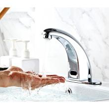 F1102 Commercial Automatic Tap Sensor Electric Water mixer  Bathroom Sensor Faucet