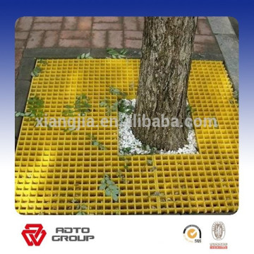 factory price non-slip fiberglass grating trench cover