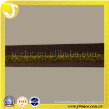 Wide Machine Produced Woven Braid Gimp Tassel Trim for Sofa,Pillow,and Home Textile Decoration