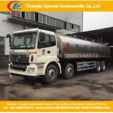 Caminhão líquido do alimento do leite fresco de aço inoxidável da preservação do calor de Foton