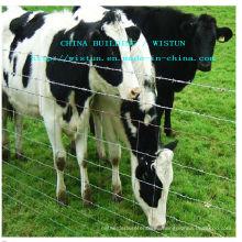 Cerca galvanizada de la malla del ganado / cerca de la granja del ganado del metal