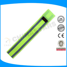 adjustable size reflective elastic sport armband