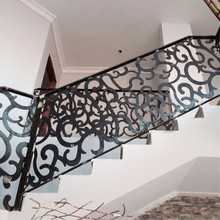 Laser Cut Steel Staircase