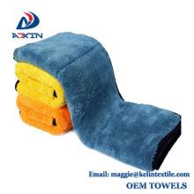 China fábrica atacado 40x40 cm, 1000gsm Soft Coral fleece toalha de limpeza