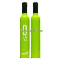 Art und Weise preiswerter fördernder Weinflaschenregenschirm