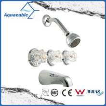 Bathroom in-Wall Brass Chromed Shower Faucet (AF5577-7)