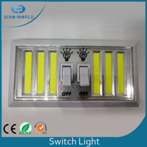 Luz brillante del interruptor de 6 * 2W COB LED