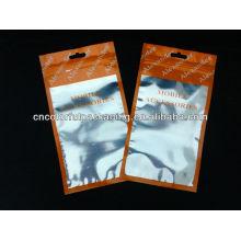 bolsa de plástico para iphone 4g / bolsas de embalaje de la batería del teléfono móvil