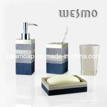 Polyresin Bathroom Set (WBP0218B)