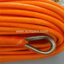Customized for Uhmwpe Rope UHMWPE Rope Double Braided Winch Rope export to Guinea Manufacturers