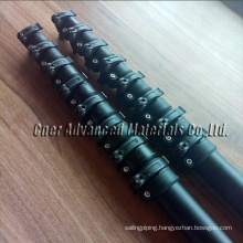 harvest oil palms extension telescopic pole 20 meter /coconut picking pole/Telescoping Poles for Fruit Picking