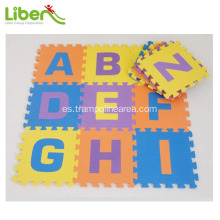 indoo kids letter alfombra suave