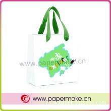 Customized Elegant Cmyk Printing Paper Bag (YCHB-pb-034)