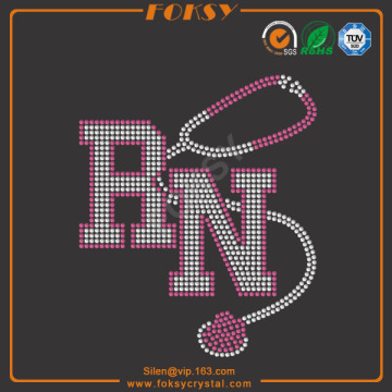 RN t shirt bling iron on transfers