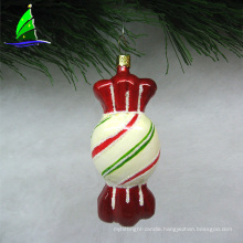 Artdrgon 2020 christmas Diy sweet glass hard candy ornament for holiday decoration
