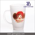 12oz Imprint Frosted Glass Mug (GB094212-DR-111)
