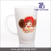 12oz Imprint Frosted Glass Mug (GB094212-DR-111)