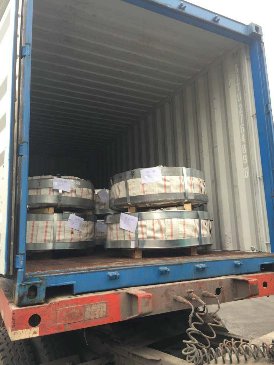 Steel material galvanized coil (1)