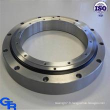 Fabrication en usine en haute qualité et en anneau de 50 Mn. Série à bille à une rangée à quatre points en série. Rouleau croisé à une rangée