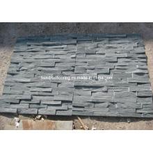 Panel de pizarra negro para azulejos de pared