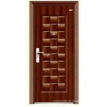 Kommerzielle Stahl Tür niedrigen Preis KKD-545 heißen Afrika Verkauf Sicherheitsplanung
