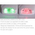 Vision LED Motion Activé Couleur Système de détection de mouvement unique et intelligent Salle de bain Toilet Light Night