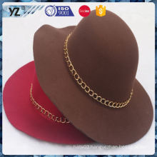 Factory supply unique design decorative crochet women hat China wholesale