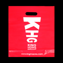 Red Customized Advertisement Handle Bag