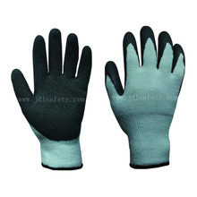 Natural Latex Coated Work Glove for Winter (LT2014)