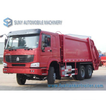 HOWO 6*4 15000L Compactor Garbage Truck
