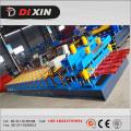 828 Plaque de toiture galvanisée Machine à formater un rouleau de carrelage glacé