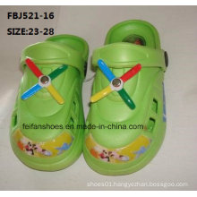 Latest Design EVA Garden Shoes Fashion Slippers for Children (FBJ521-16)