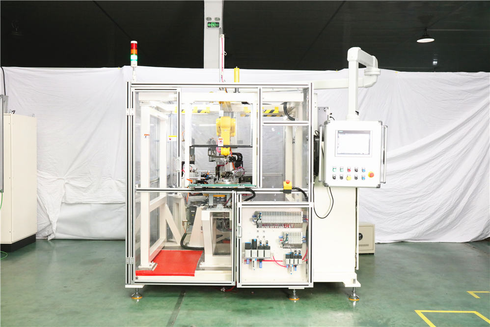 stator wire coil binding machine