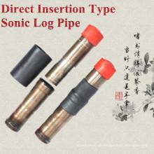 Heißer Verkäufer Direkte Einfügung Typ Sonic Log Pipe / Tube / Sounding Pipe