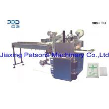 Máquina de fabricação de compressas de gaze