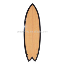 2015 hot selling colorful PU surfboard/wood veneer surfboard