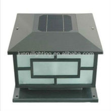 Solar outdoor garden gate lighting, solar pillar lights, solar garden fence lights