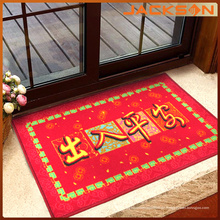 Chinesische Art-rote Farben-Tür-Matte