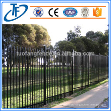 steel fence for garrison fence