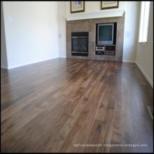 UV Lacquered Engineered Walnut Wood Flooring