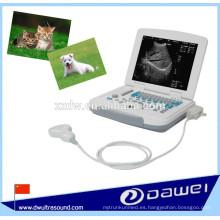 Escáner de ultrasonido para uso veterinario portátil y animal