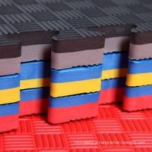 Venda direta do fabricante eva puzzles taekwondo mat quebra