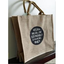 Good quality jute gift bags custom