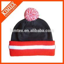 wholesale acrylic custom blank pom beanie hats