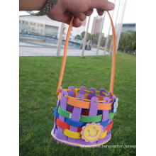 Funny eva diy flower basket with foam factory