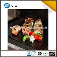 2016 Hot selling FDA certificate non-stick bbq grill mat fire retardant grill mat