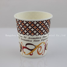 Single-Wall Paper Cup mit Customized Griff für Hot Drinking-Swpc-43