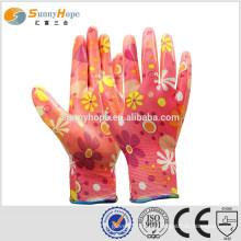 SUNNYHOPE mujer guantes de jardín abrigo