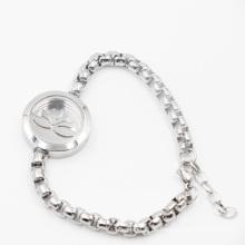 Lotus 316L Edelstahl Parfüm Medaillon für Mode Armband Schmuck